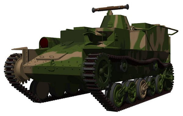 CG 日本陸軍 100式挺進観測車 テ...
