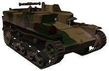 CG 日本陸軍 戦車系統図